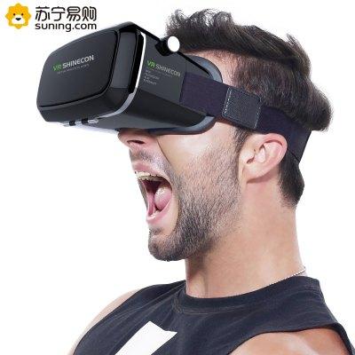千幻魔镜正品Shinecon一代智能VR眼镜3D头盔3D眼镜安卓苹果手机专用VR眼镜通用版