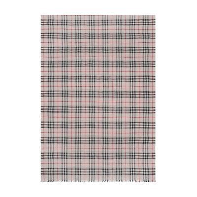BURBERRY 博柏利 男女通用款Vintage格纹丝毛混纺丝巾围巾 80045441