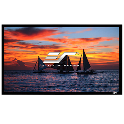 亿立(Elite Screens)120英寸16:9画框幕布 投影幕布 投影仪幕布 投影幕 幕布(JER120WH1)