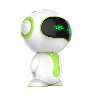 小琪XIAOQI F4 智能机器人玩具早教机家庭儿童陪伴故事机WIFI互动学习机 绿色