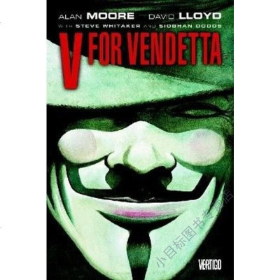 V for Vendetta Alan Moore Vertigo 9781401208417