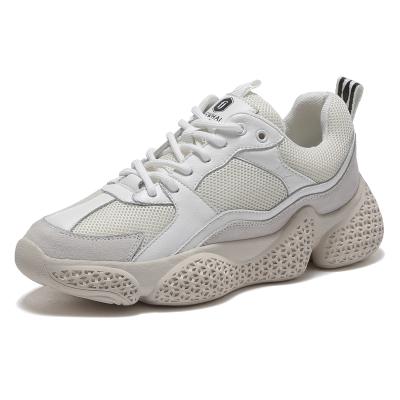 马克华菲女士老爹鞋女夏季女鞋运动鞋透气女款板鞋网面透气女鞋休闲鞋