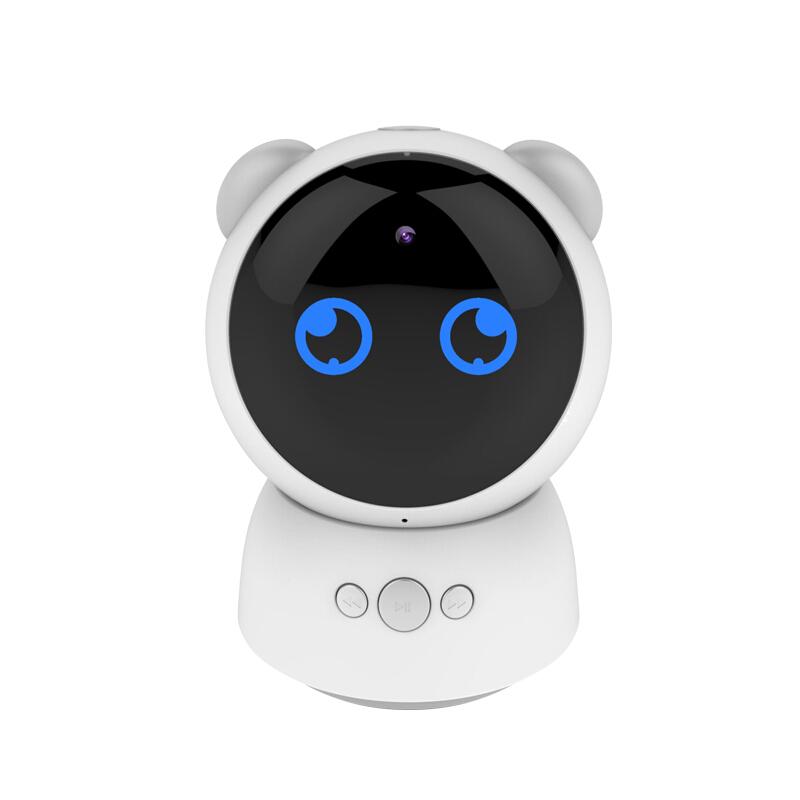视频监控智能教育机器人陪伴学习 同步教材 儿童教育 AI智能 视屏通话360度旋转 1-3-6-12岁早教机器人