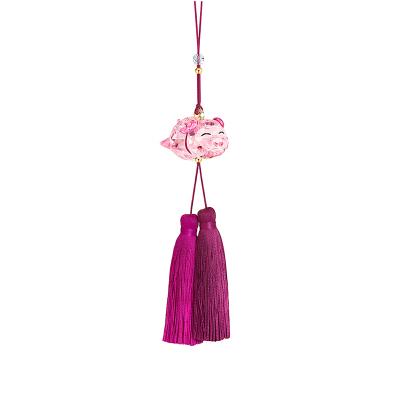 【高贵之选】SWAROVSKI施华洛世奇PIG ORNAMENT猪猪来福幸运吉祥人造水晶挂饰饰品 自用 挂件 家居装饰