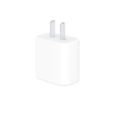 Apple原装20W USB-C电源适配器/快速充电器 适用于iPhone/iPad/iPad Pro/iPad Air