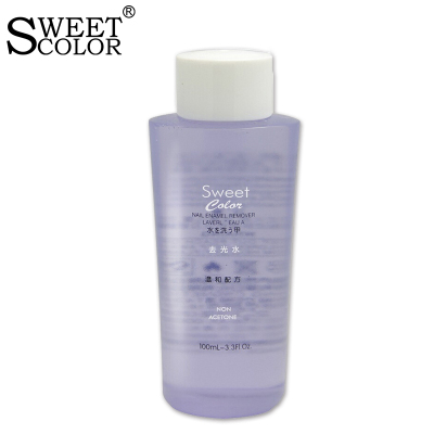 Sweet Color 去光水 环保洗甲水卸甲水 大瓶卸指甲油 不伤甲 100ML