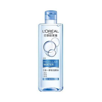 欧莱雅(L'OREAL)三合一卸妆洁颜水 清爽型 400ml L'OREAL 卸妆液
