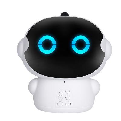 小琪XIAOQI M33 智能机器人语音对话高科技男孩女孩家庭教育早教WIFI学习机 白色