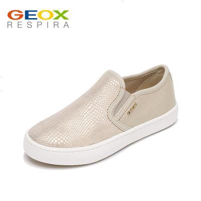 GEOX/健乐士儿童运动鞋女童鞋透气日常套脚板鞋防滑轻便J62D5D