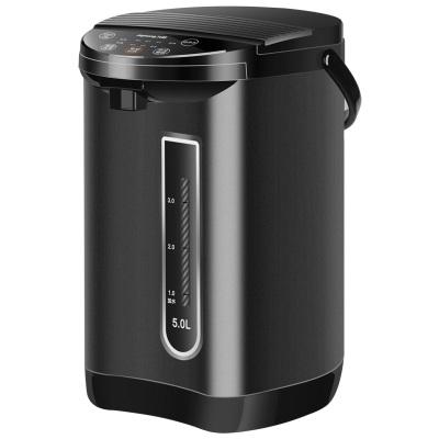 九阳(Joyoung)电热水瓶K50-P611 6段温控 沸腾除氯 支持童锁 304不锈钢 5L 保温恒温电水壶开水瓶