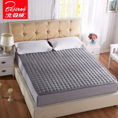 北极绒(Bejirog)家纺 四季可水洗褥子垫双人薄床垫1.8m床垫被防滑1.5米床褥学生宿舍纯色简约风床护垫