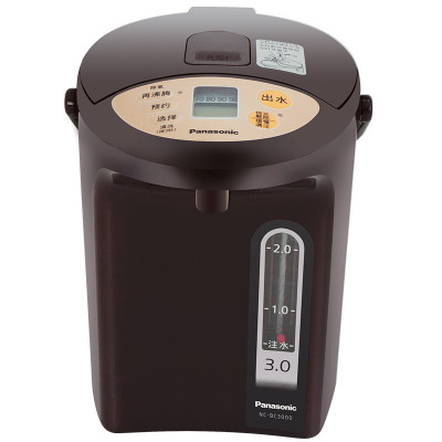 松下(Panasonic)3L电水壶 电热水瓶 备长炭内胆 可预约 全自动智能保温烧水壶 NC-BC3000