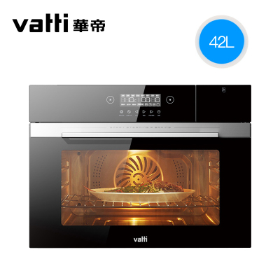 华帝(vatti)JYQ70-i23008 42升大容量 触屏蒸烤一体机家用二合一 嵌入式蒸烤一体机