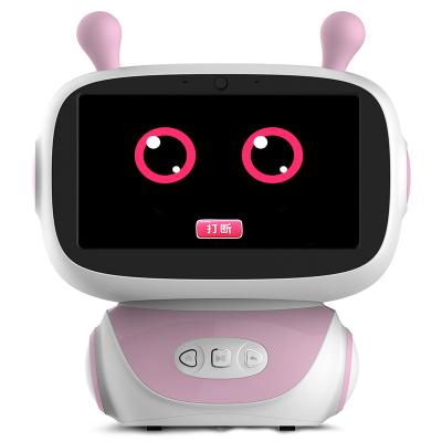 智力快车小帅才子儿童智能机器人早教5.0第五代学习机3-12岁教育陪伴语音对话益智触屏跳舞 A30粉色32GWIFI版