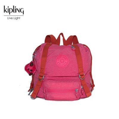 凯普林(Kipling)女士拼色双肩包休闲包K15028