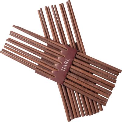 亿嘉IJARL 环保健康餐具配件 红木筷子套装10双装