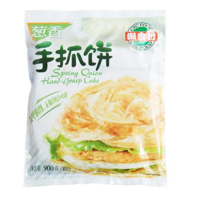 限地区:潮香村葱香手抓饼900g*2件    16.9元(双重优惠,合8.45元/件)